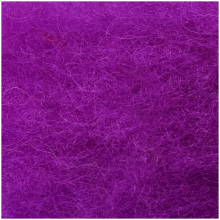 New Zealand carded wool 50g. ± 2,5g. Color - signal purple, 27 - 32 mik.