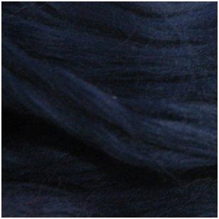 Prekės kodas AG5024. Akrilo gijų pluoštas veltų gaminių dekoravimui. Spalva -  tamsiai mėlyna. Pakuotėje 10 gramų.