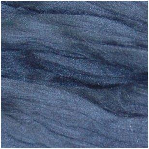 Prekės kodas AG5005.Akrilo gijų pluoštas veltų gaminių dekoravimui. Spalva- mėlyna. Pakuotėje 10 gramų.