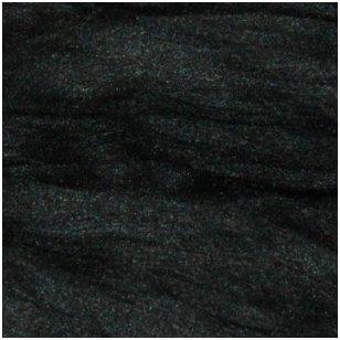 Prekės kodas AG9011. Akrilo gijų pluoštas veltų gaminių dekoravimui. Spalva: juoda. Pakuotėje 10 gramų.