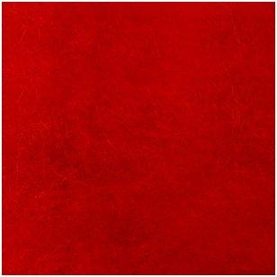 Austrijos Tirolio vilnos karšinys 50 g. ± 2,5 g. Spalva - raudona, 31 - 34 mik.
