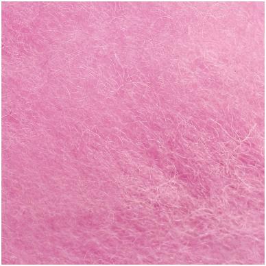 Austrijos Tirolio vilnos karšinys 50 g. ± 2,5 g. Spalva - šviesiai rožinė, 31 - 34 mik.
