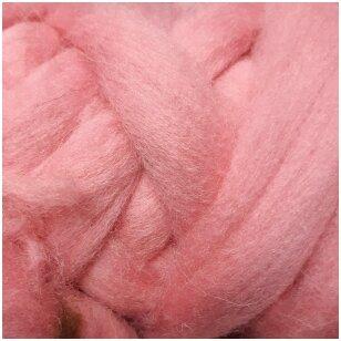 Avių vilnos sluoksna, 50g. ± 2,5g. Spalva - šviesi rožinė, 26 - 31 mik.