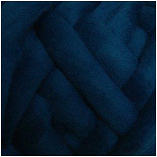 Avių vilnos sluoksna, 50g. ± 2,5g. Spalva - žalsvai mėlyna, 26 - 31 mik.
