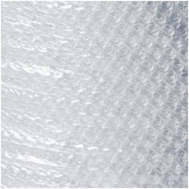 Burbulinė plėvelė naudojama šlapiam vėlimui. 120*100cm.