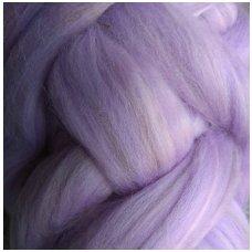 Multicolor Merino tops 50g. ± 2,5g. Colors - purple shades, 20,1 - 23 mik.