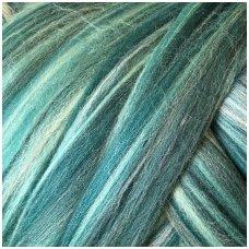 Multicolor Merino wool | Wool tops | Wool felting | Eshop
