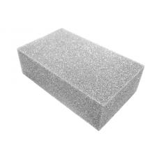 Sponge used for dry felting. Size 200x200x60