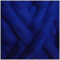 Fine wool tops 50g. ± 2,5g. Color - bluebottle, 18,6 - 20 mik.