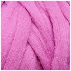 Fine wool tops 50g. ± 2,5g. Color - heather violet, 18,6 - 20 mik.