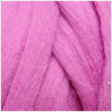 Medium Merino wool tops 50g. ± 2,5g. Color - heather violet , 20.1 - 23 mik.