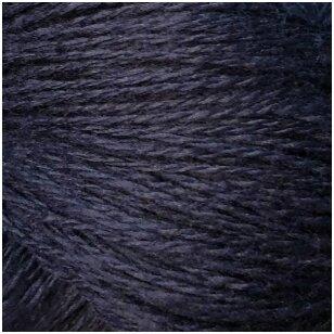 Merino vilnos siūlai, 1 kg. Spalva - tamsiai mėlyna.