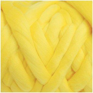 Merino vilnos sluoksna 50g. ± 2,5g. Spalva - citrinos, 20,1 - 23 mik.