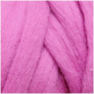 Merino vilnos sluoksna 50g. ± 2,5g. Spalva - viržių violetinė, 20,1 - 23 mik.