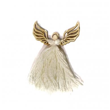 Wooden angel for needlework 2