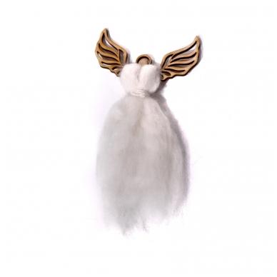 Wooden angel for needlework 3