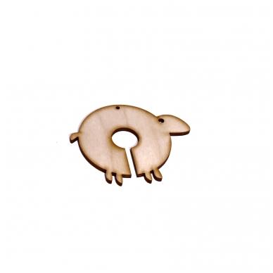 Medinis avinėlis rankdarbiams
