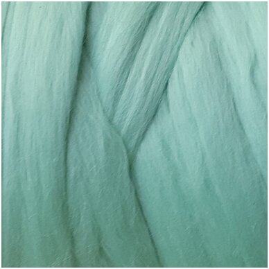 Super fine wool tops 50g. ± 2,5g. Color - , 15,6 - 18,5 mik.