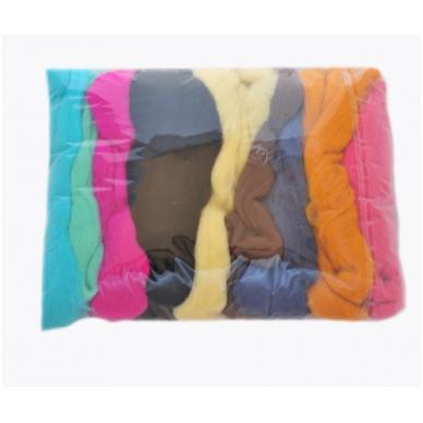 Medium Merino wool  collection, 100g. ± 2,5g., 20,1 - 23 mik.