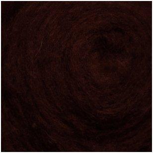N. Zelandijos vilnos karšinys 50g. ± 2,5g. Spalva - baklažanas, 27 - 32 mik.