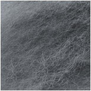 N. Zelandijos vilnos karšinys 50g. ± 2,5g. Spalva - pilka, 27 - 32 mik.