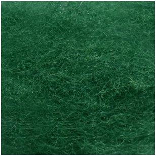 N. Zelandijos vilnos karšinys 50g. ± 2,5g. Spalva - žalia, 27 - 32 mik.