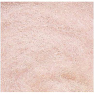 N. Zelandijos vilnos karšinys 50g. ± 2,5g. Spalva - antikinė rožinė, 27 - 32 mik. 2