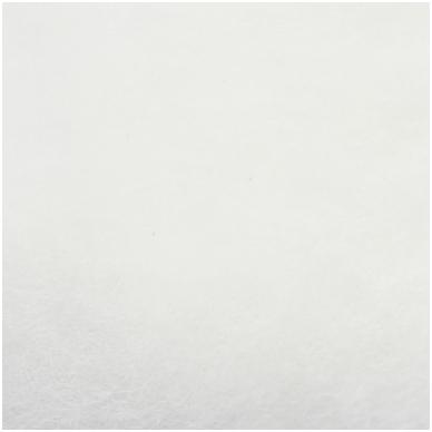 N. Zelandijos vilnos karšinys 50g. ± 2,5g. Spalva - balta, 27 - 32 mik. 2