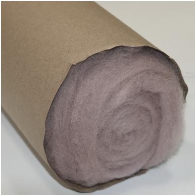 N. Zelandijos vilnos karšinys 50g. ± 2,5g. Spalva - antikinė rožinė, 27 - 32 mik. 3