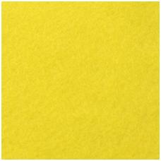 Synthetic fiber sheet. Color- lemon. Dimensions 200x300x1,5mm.