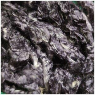 Šilko gijos. Spalva - juoda . Pakuotėje 5 gramai.