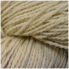 Wool yarn hank 150g. ± 5g. Color - natural creamy. 100% wool.