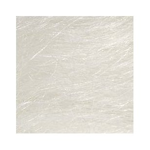 Vilnos sluoksna su šilku, 50% vilnos 50% šilko. Spalva balta. Pakuotėje 50 gramų.